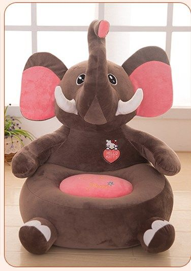 Baby Chair Bean Bag Elephant Feeding Chair Children Seat Sofa For Kids Sleeping  Bed Baby Nest Puff Chair Beanbag Plush Toys d9a83808bddb3