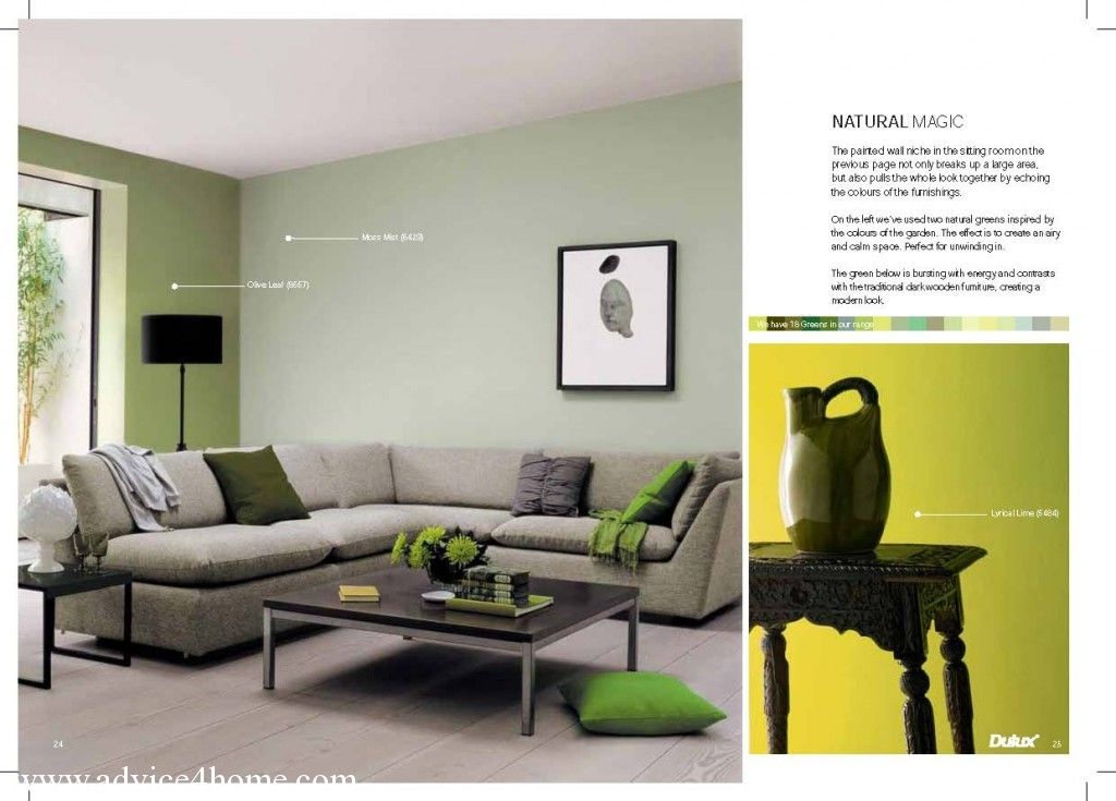 Green And Blue Colours In ICI Dulux LR Guide For Home Advice Interiors Colour Giude From 414