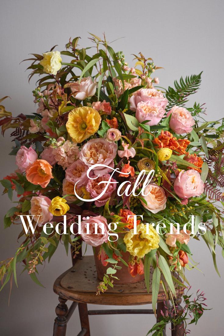 Fall Wedding Ideas Fall Wedding Flowers u Fall Wedding Colors