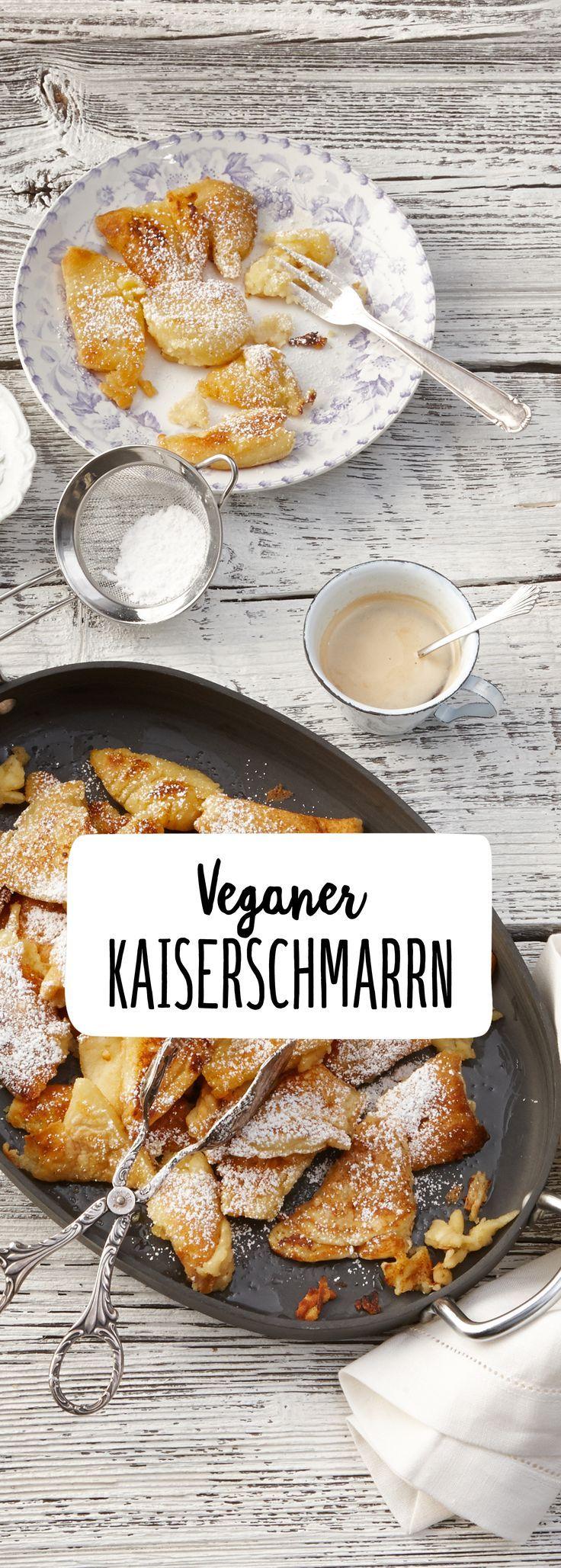 Veganer Kaiserschmarrn #desserts