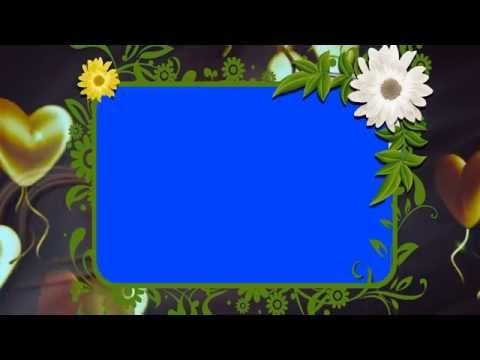 Hd Free Background Animated Photo Frame Video Downloads Youtube Frame By Frame Animation Free Video Background Wedding Frames
