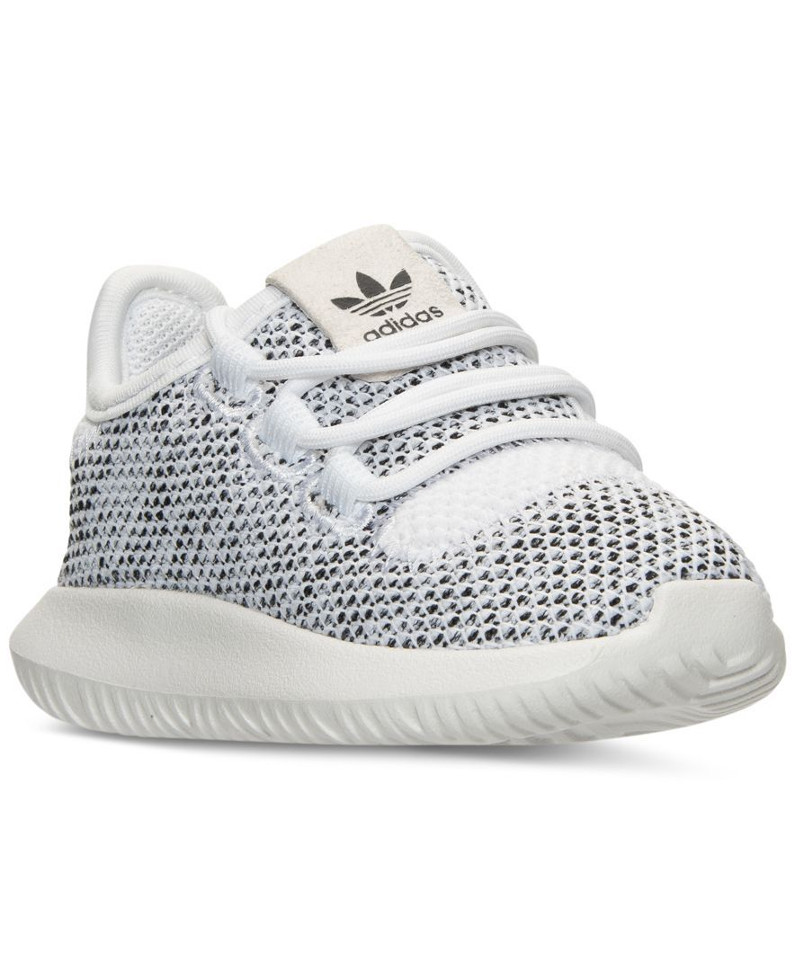 00502bee7b0 adidas Toddler Girls' Tubular Shadow Knit Casual Sneakers from ...