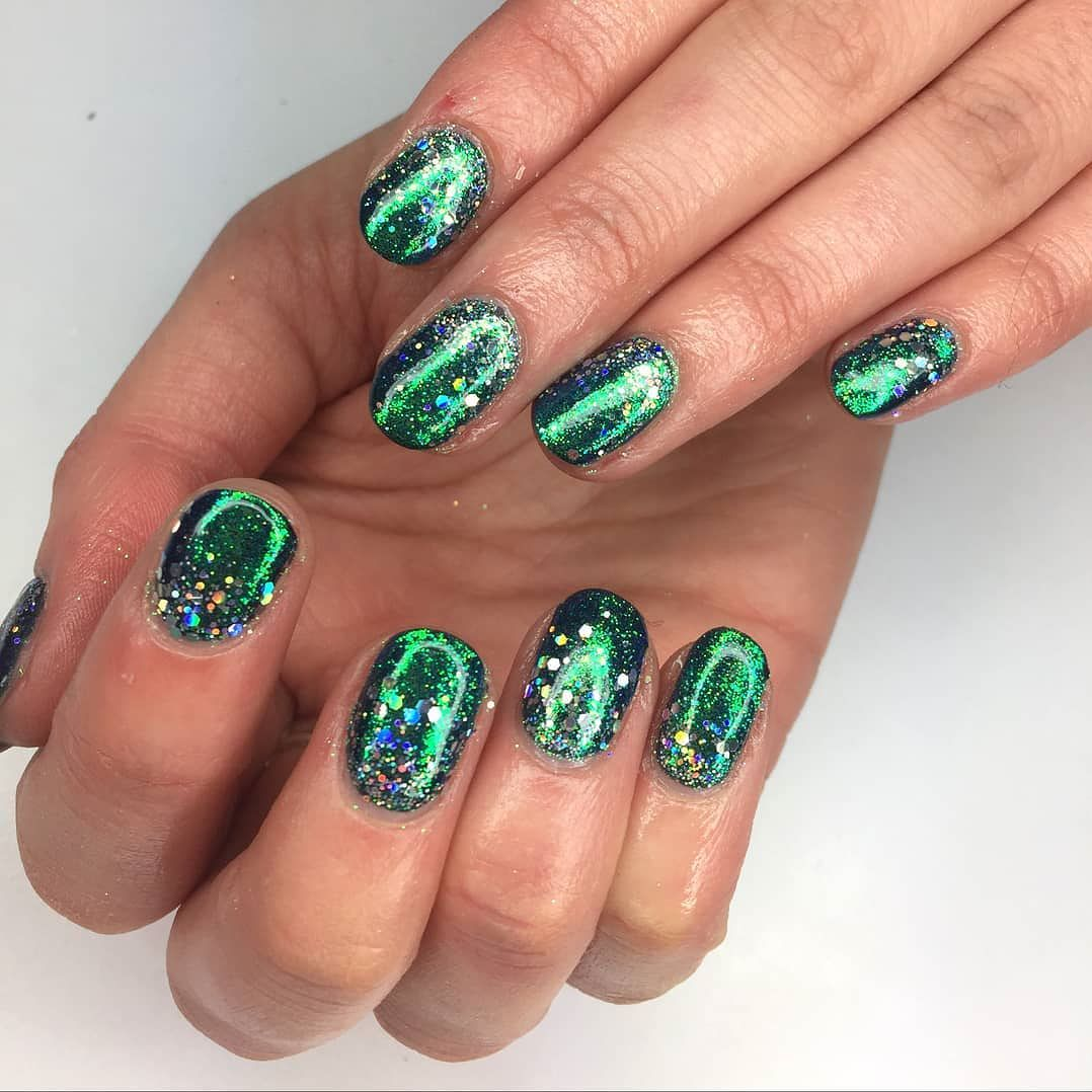 The festive season might be over but your nails can still part-yay ...