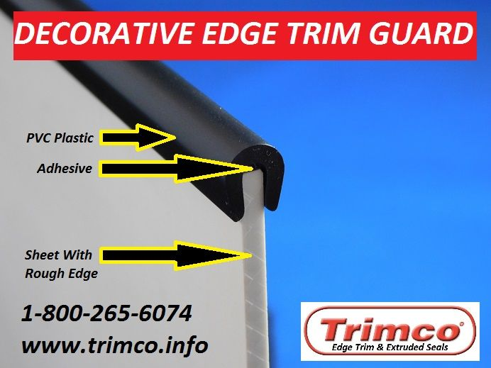 Trimco manufacturers Decorative Edge Trim Guard in various