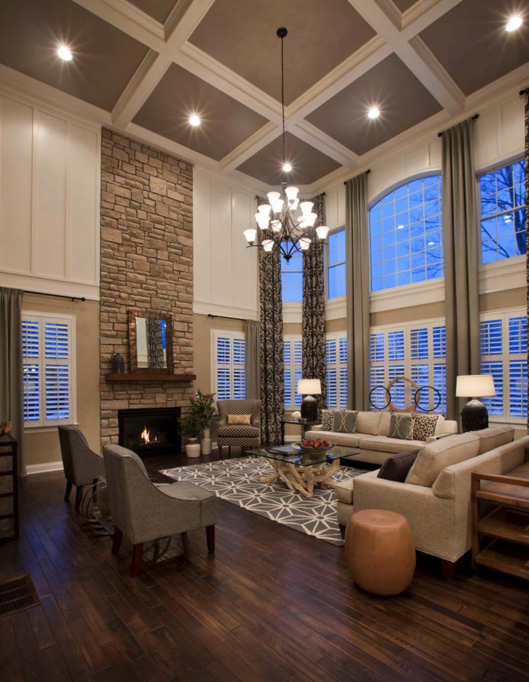 Exquisite Model Home In Massachusetts Showcases Inspiring Details House Design Family Room Design House Interior