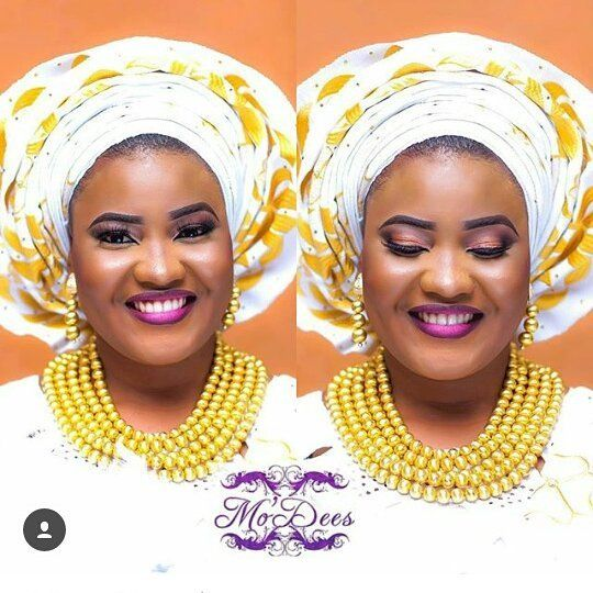 #asoebi #asoebispecial #speciallovers #wedding #makeover #dope #headgear #bead @mo_dees
