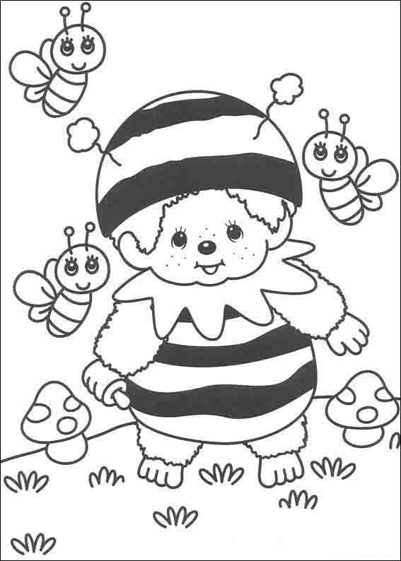 Dibujos para imprimir y pintar para niños Monkikis 4 | DIBUJOS PARA ...