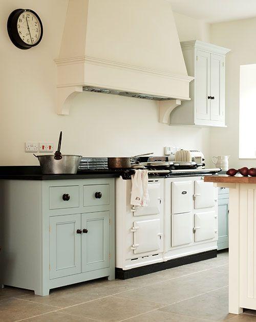 English Kitchen With Aga Stove