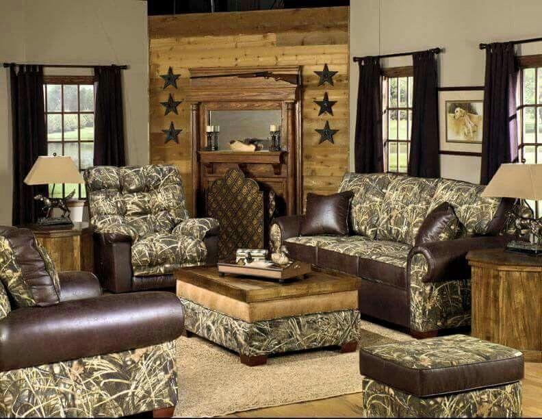 camo living room home sweet home camo living rooms living rh pinterest com