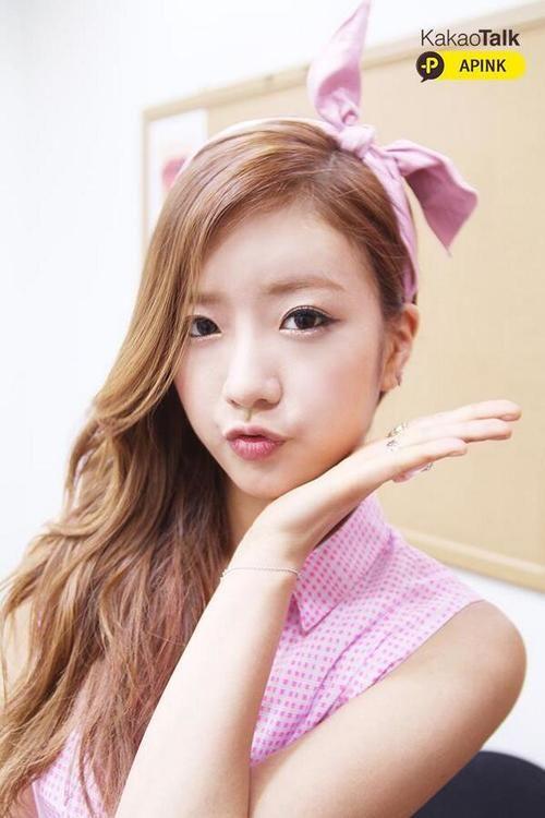 Bomi Selca Pretty Hairstyles Kpop Girl Groups Cute Headbands
