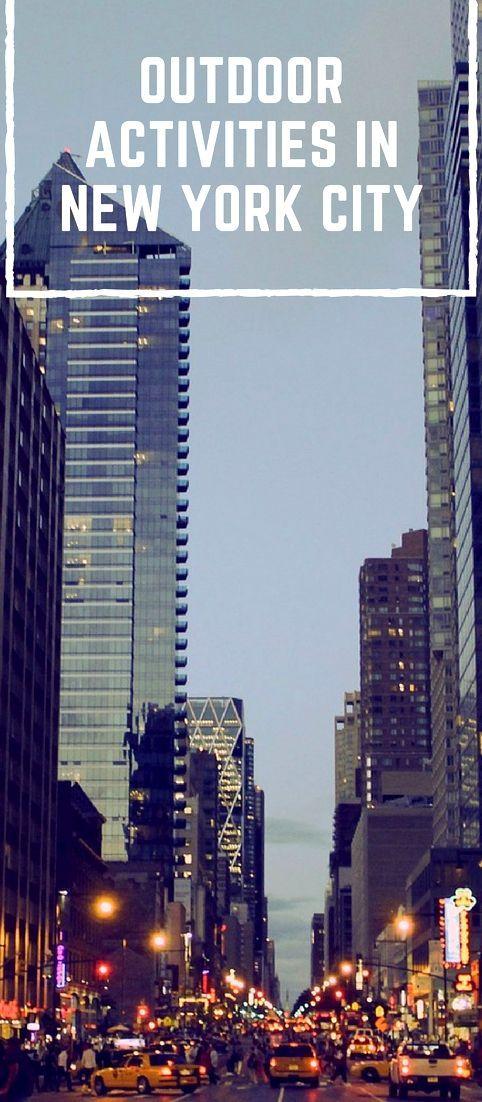 Outdoor Activities In New York City, New York