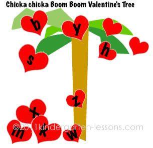 Chicka, Chicka, Boom, Boom Valentine's Tree