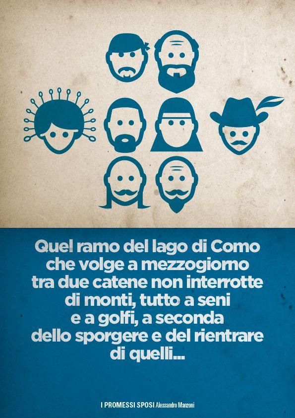 I Promessi Sposi Alessandro Manzoni Minimal Incipit Minimal Spose Letteratura