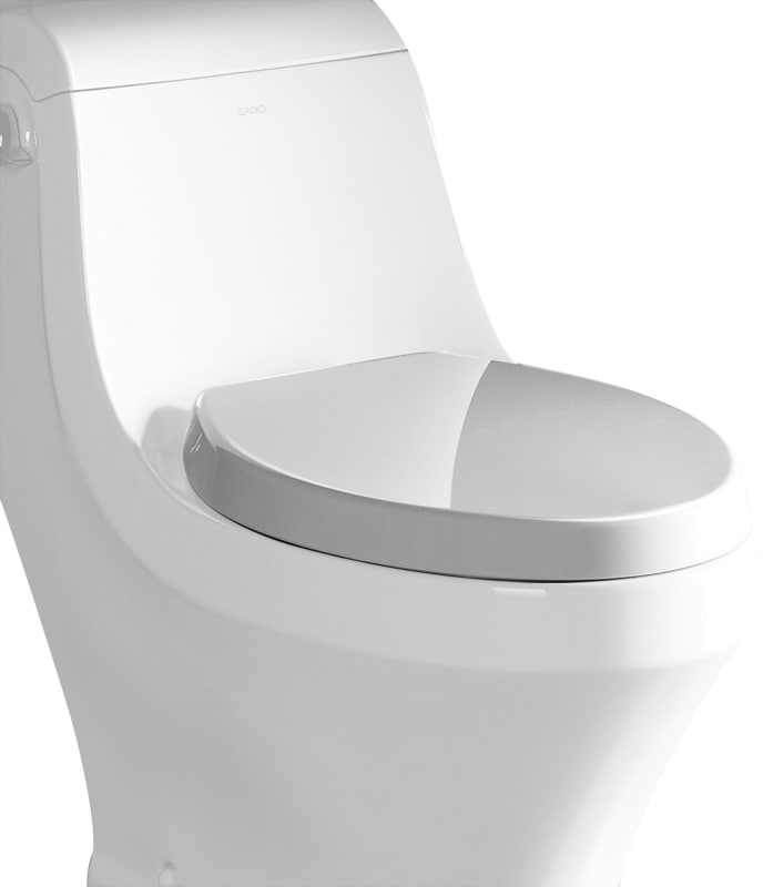 Eago R 133seat Elongated Closed Front Toilet Seat With Soft Close