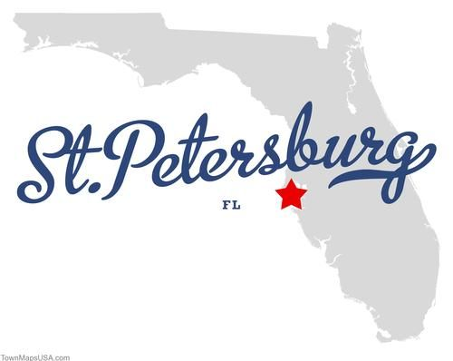 Map Of St Petersburg Florida.Map Of St Petersburg Florida Fl St Pete Florida Lifestyle