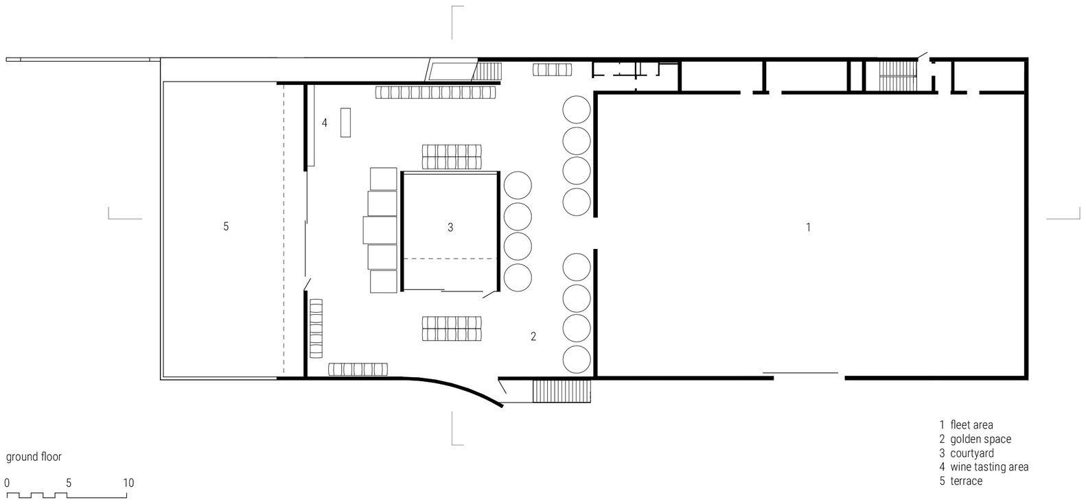 Gallery Of Wine Cellar Dockner Goebl Architecture 19 Wine Cellar Architecture Gallery