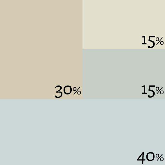Accented Neutral Color Scheme Bedroom: Designer Palette: Peaceful Grace