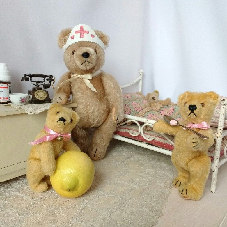 In case youve cought a cold old teddy bears are the best nurses in case youve cought a cold old teddy bears are the best nurses thecheapjerseys Gallery
