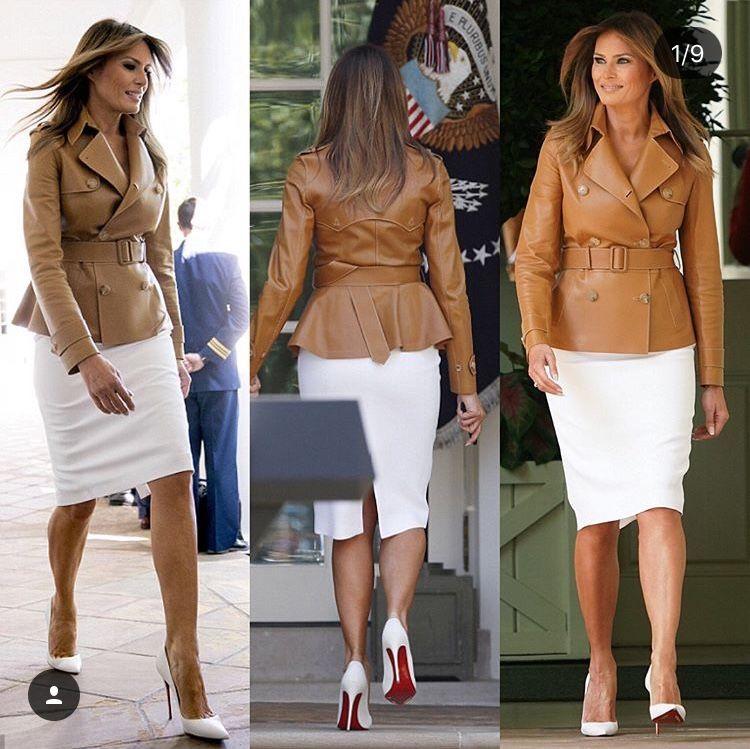 Our Chic Flotus Milania Trump Style Trump Fashion Royal Clothing