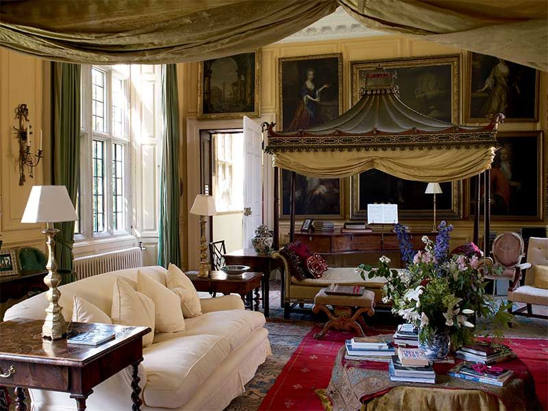 Country house interiors gloucestershire england