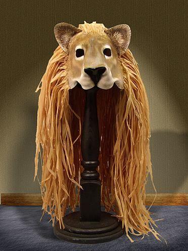 Lion Mask with Mane | MASK | Lion mask, Lion king costume, Narnia