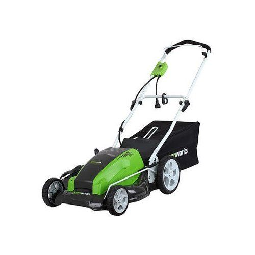 Amazon Com Greenworks 25112 21 Inch 13 Amp Electric Lawn Mower 3