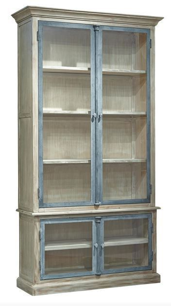 Furniture Classics Casement Cabinet  #woodencabinet #furnitureclassics #glasscabinet #paintedcabinet