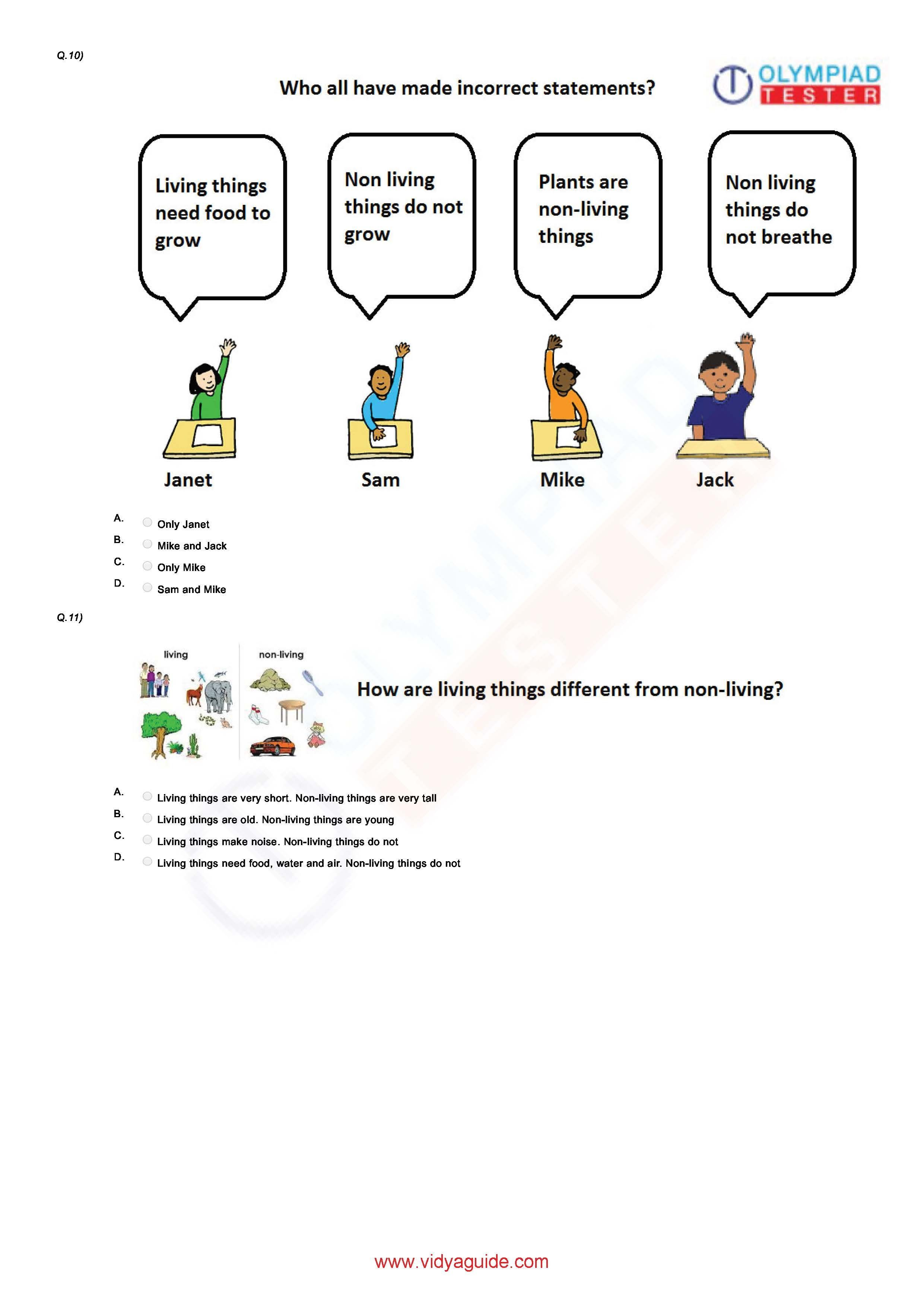 Download Free Grade 1 Science Printable Worksheets Or Take