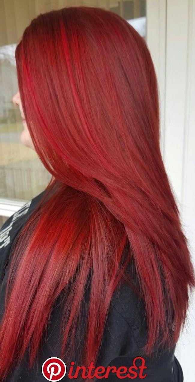 Raketenrotes Haar in 11  Frisuren, Haarfarben, Frisur rote haare