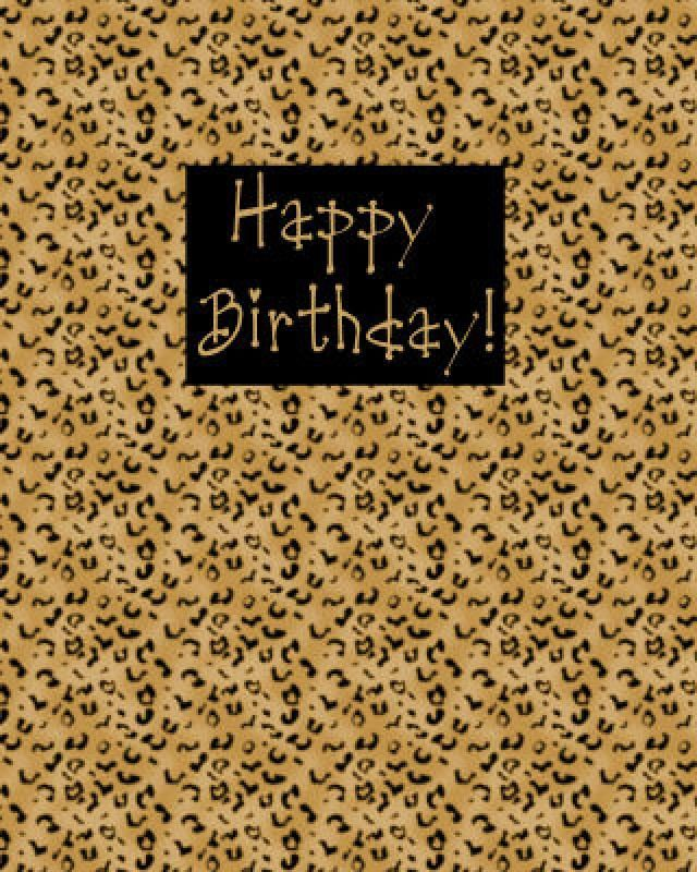 Plan Your Teens Birthday Party with This Guide – Leopard Print Birthday Cards