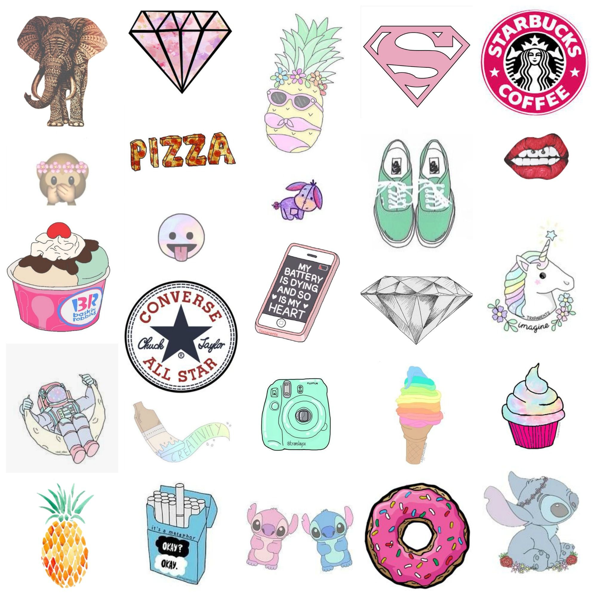 Pin by Kaelyn on Gucci | Tumblr stickers, Diy school ...