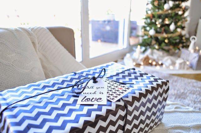 Mi casa en Navidad   etiquetas descargables