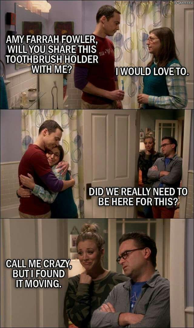 Amy And Sheldon The Big Bang Theory The Big Bang Theory