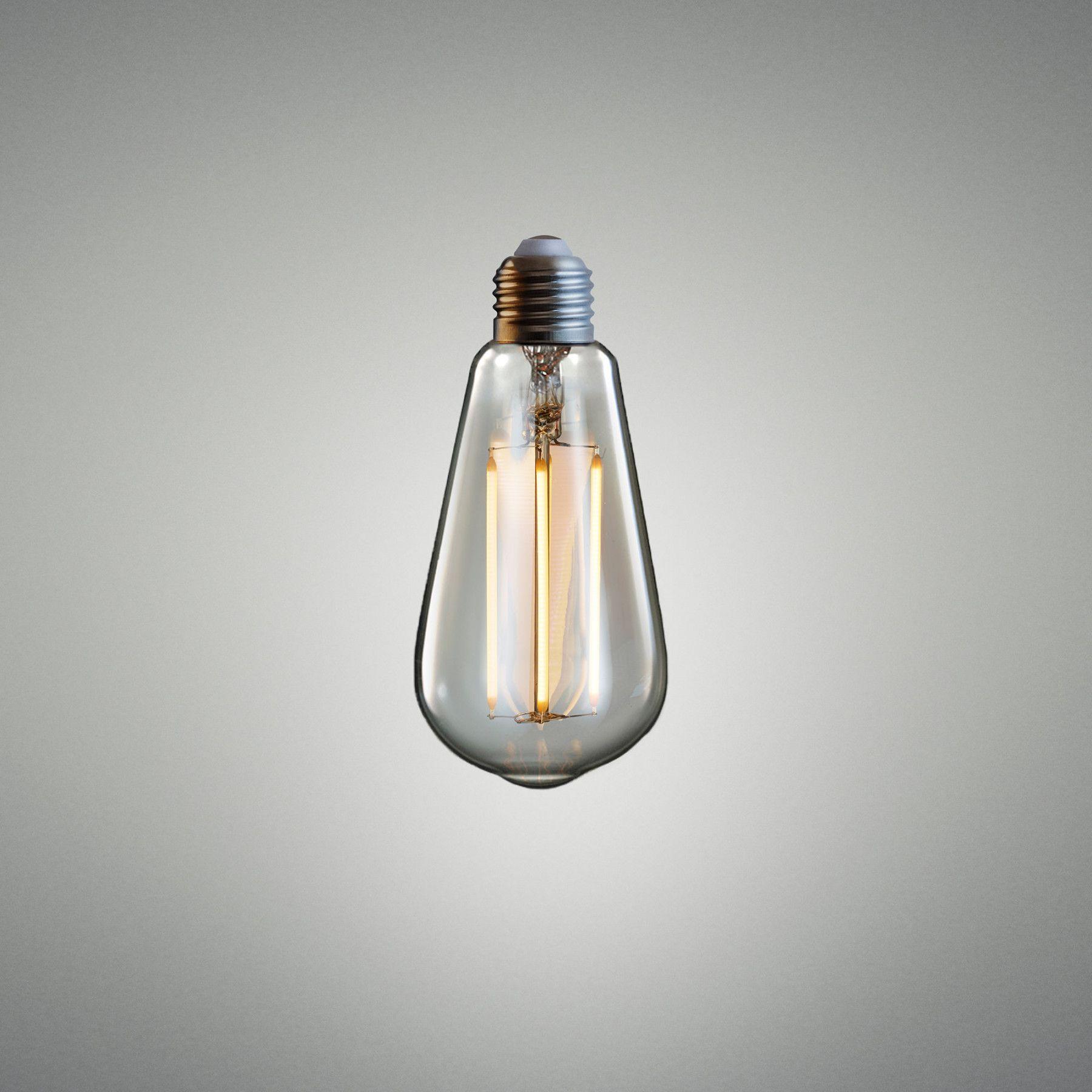 LED TEARDROP / AMBER Bulb, Led bulb, Contemporary light