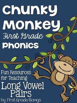 Young readers NEED to learn Long Vowel Pairs in order to be successful readers. This unit has everything you need to teach and practice these essential phonics skills