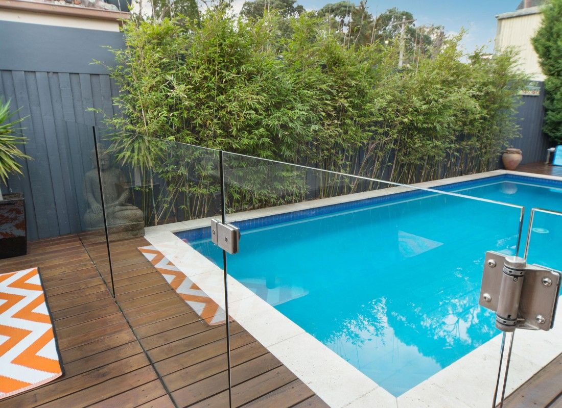 Fully Frameless Glass Pool Fencing Channel System Glass Pool Fencing Fence Design Pool Fence