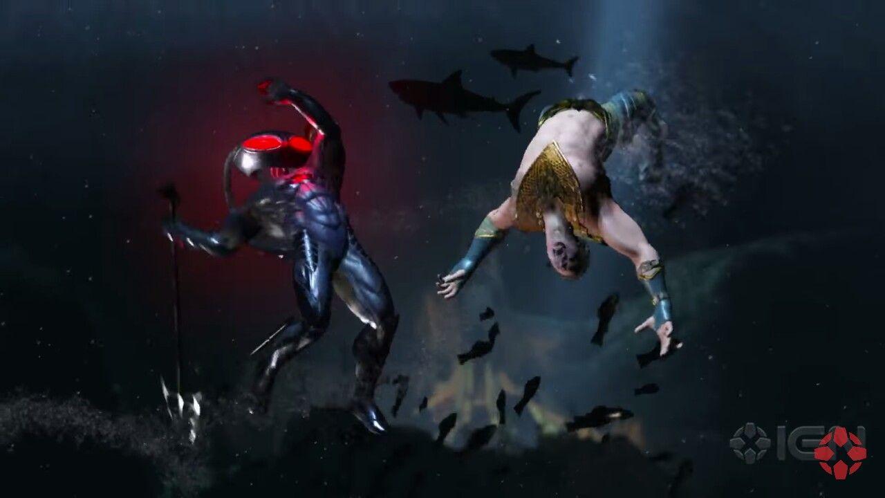 Black Manta And Aquaman Injustice 2 Aquaman Injustice Aquaman Black Manta