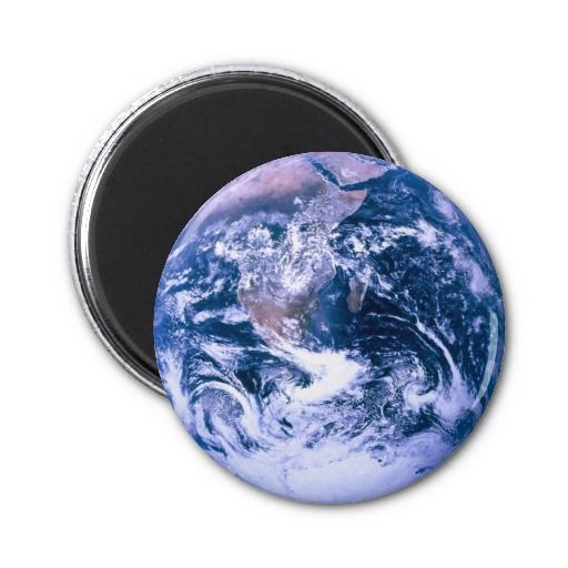 Earth From Space Blue Marble Magnet Zazzle Com Planets Earth From Space Earth