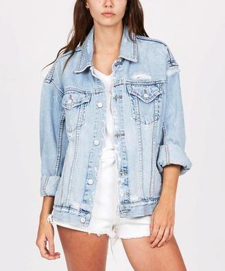 6fa10d89c0 Ksubi - Oversized Denim Jacket Havoc Street | Denim | Oversized ...