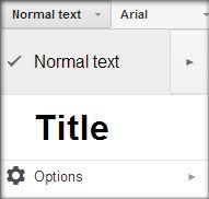 Change your default font settings in Google Docs