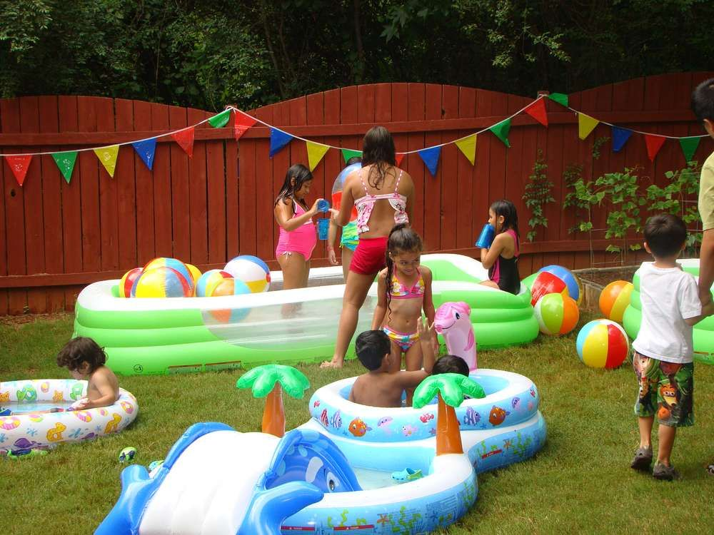 Pin by Tammie Dawn on Inflatable Parties | Water birthday ...