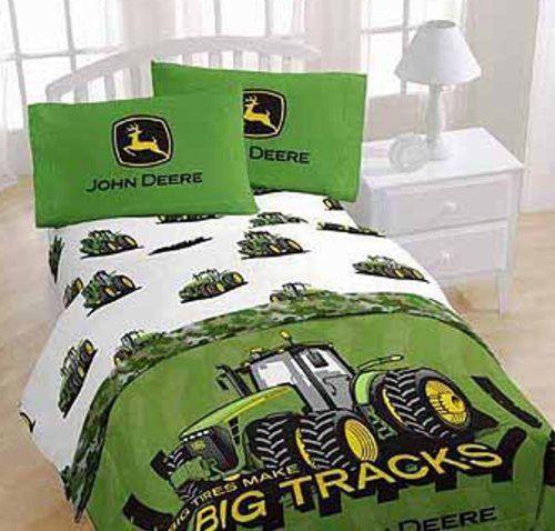 John Deere Big Tracks Full Sheet Set Products Pinterest - John deere idees de decoration de chambre