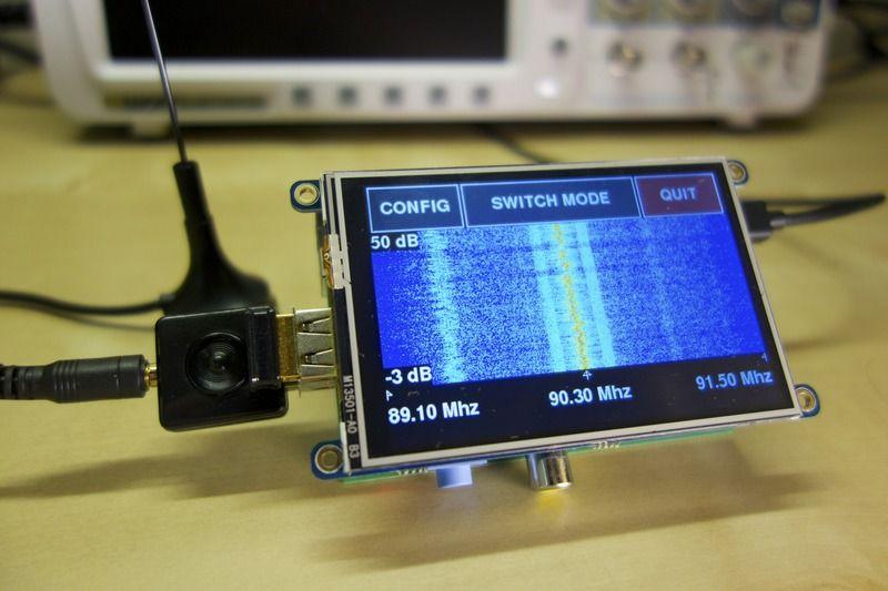 Hardware | Freq Show: Raspberry Pi RTL-SDR Scanner