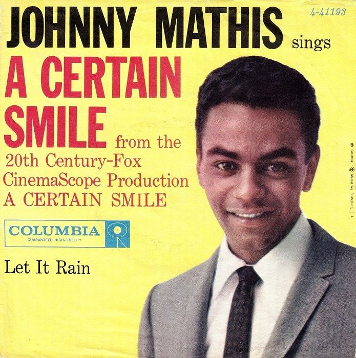 Pin by Michael McInery on Great Singers - Johnny Mathis | Pinterest ...