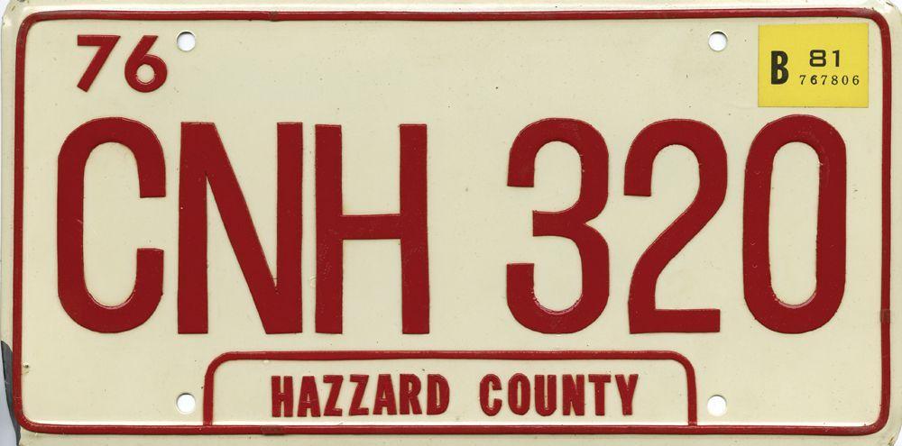 Daisy Hazzard County Dukes Of Hazzard Novelty Vanity License Plate Tag