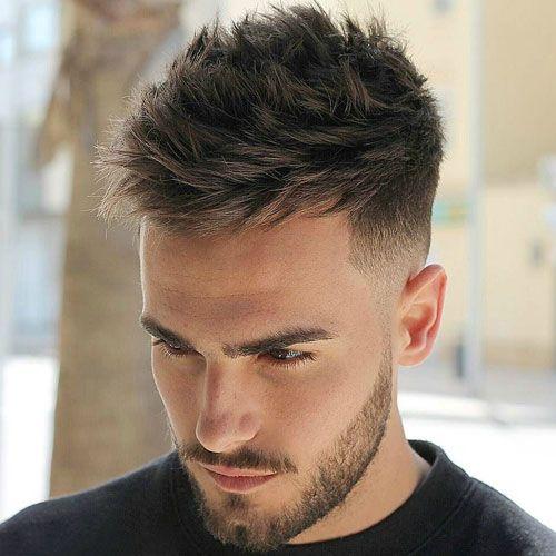 Cabelos Mens Hairstyles Thick Hair Men Haircut Styles Thick Hair Styles