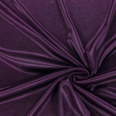 Charmeuse 11 - Polyester - aubergine