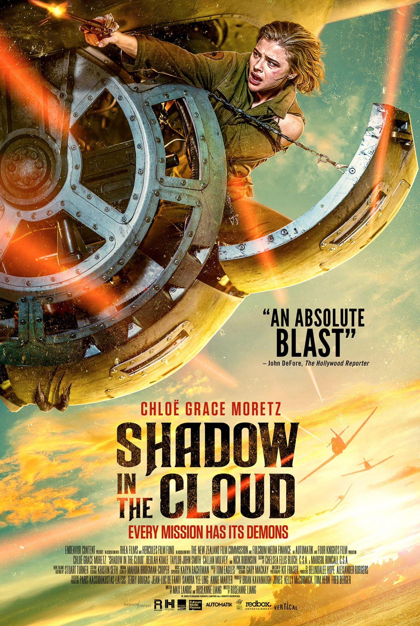 Shadow In The Cloud 2020 Portadas De Peliculas Peliculas Peliculas Completas
