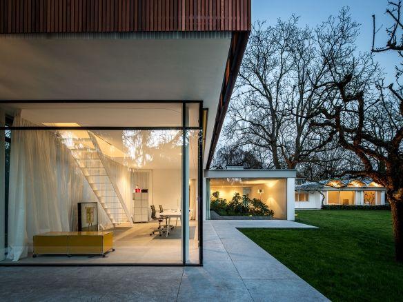 mid century bungalow umbau und erweiterung eines architektenhauses aus den 50er jahren. Black Bedroom Furniture Sets. Home Design Ideas