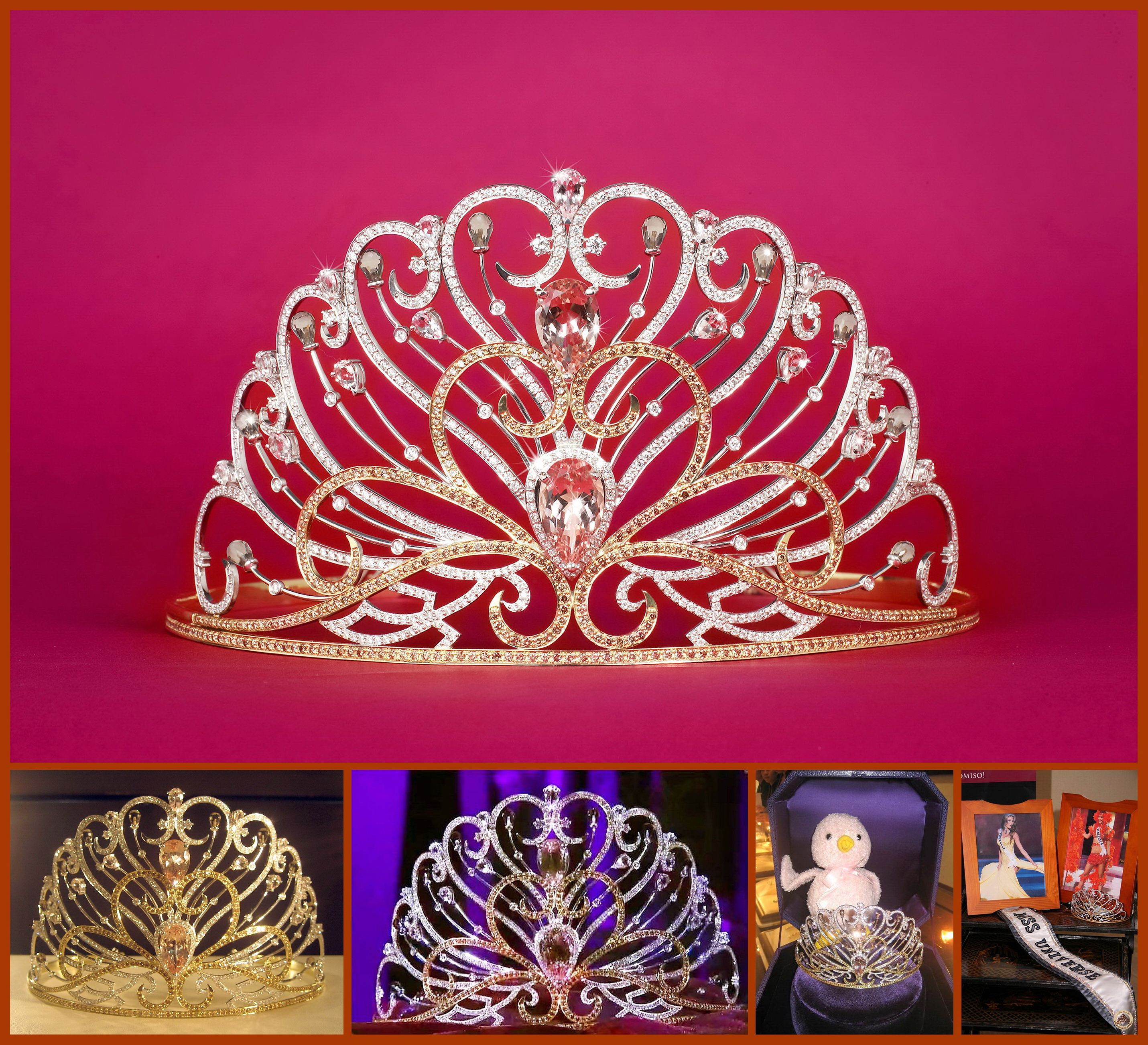 Miss Universe 2008-Crown By CAO Fine Jewelry